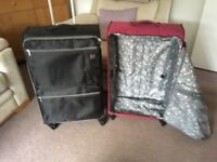 Two suit cases