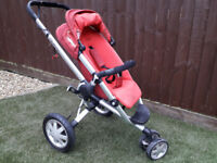 Quinny Buzz Travel System - Rebel Red