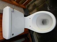 Bathroom en-suite toilet and pan set for sale - £25