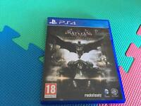 PS4 game Batman Arkham knight