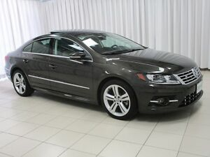 2014 Volkswagen CC R-LINE 2.0T w/ TECH PACKAGE, NAVIGATION,  MOO