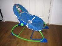 Fisher Price baby rocker Blue