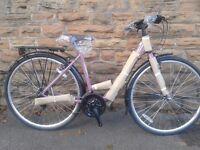 NEW Dawes Mirage Ladies Womens- Purple Low Step Classic Dutch Style Hybrid 700c Bike - RRP £379