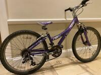 Girls Trek MT220 mountain bike 24 inch wheels suit 8-12