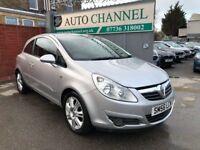 Vauxhall Corsa 1.4 i 16v Design 3dr (a/c)£2,785 p/x welcome FREE WARRANTY. NEW MOT