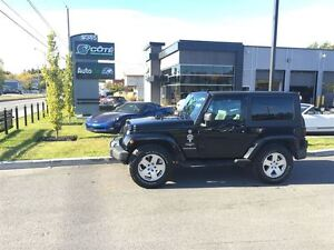 2010 Jeep Wrangler Sahara - MANIELLE  *** FINANCEMENT 100% APPRO