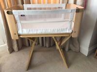 NCT Bednest, bedside crib, cosleeper, travel cot bed