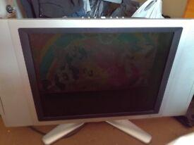 """20"""" tv for sale no remote"""