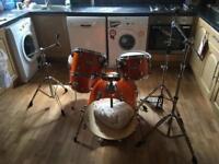 Pro mapex drum kit