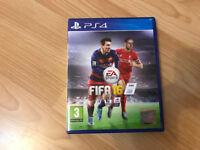 PS4 cd games fifa 16 and fifa14