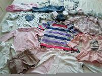 Bundle clothes girl 18-24m