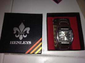 Brand New Men's Henleys Watch