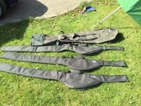 Quiver and padded rod sleeves x 3 for sale