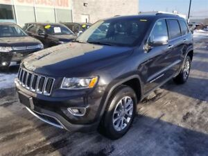2016 Jeep Grand Cherokee Limited V6 AWD CUIR+TOIT+MAGS+CAMERA TO