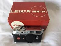 Rare Leica M4-P 70th anniversary model