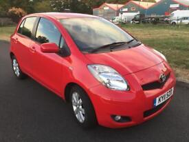 Toyota Yaris Automatic 1.3 SAT NAV, FULL DEALER SERVICE HISTORY, LOW MILEAGE, SUPER CLEAN