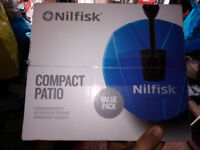 NilFisk Patio Cleaner (Pressure Washer)