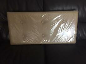 Faux Leather Ottoman *reduced*