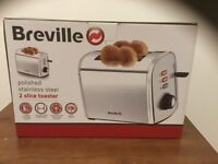BREVILLE STAINLESS STEEL TOASTER
