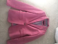 Lovely pink blazer from Next, size 10, only worn once, £30