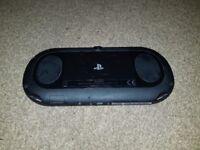 PS Vita console (slim model) with 16GB memory card