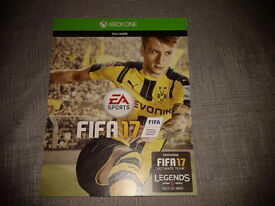Fifa 17 xbox one (game download code)