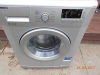 Beko 6KgWashing machine in silver in good clean working order with 3 months warranty