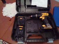 Dewalt hammer drill 18v