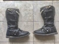 O NEIL MOTOCROSS OR ENDURO MOTORCYCLE BOOT SIZE 11 ADULT