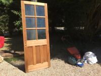 Panelled Doors with Glass
