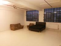 Vast Room Hackney Warehouse between broadway Market & Victoria Park