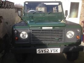 Classic Defender great engine and chassis runs well and mechanically everything is very sound.