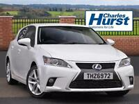 Lexus CT 200H ADVANCE (white) 2015-10-30