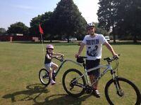 Barracuda Trailer Buddy Pull Along Bike Cost £130 New