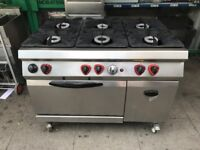 6 BIG POWER FULL COOKER UNDER OVEN CATERING COMMERCIAL KITCHEN CAFE KEBAB CHICKEN RESTAURANT SHOP