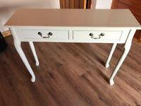 Elysee Ivory Console Table