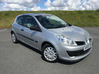 VERY LOW MILEAGE RENAULT CLIO ONLY 25,000 MILES FROM NEW! FULL SERVIC HSITORY AND NEW MOT!