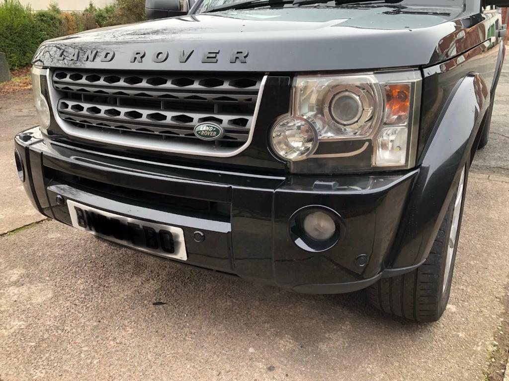 land rover discovery 3 front bumper in rumney cardiff. Black Bedroom Furniture Sets. Home Design Ideas