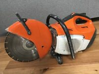 Stihl cut off Saw TS410 (2014) excellent with little use