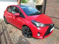 Toyota Yaris Sport VVT-I CVT 5 Door Petrol Automatic 2015 Low Mileage One Owner