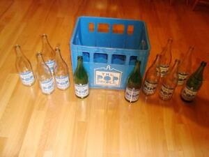 "Full Case Soda Bottles ""The Pop People"" from Oshawa ON - RARE !! Kitchener / Waterloo Kitchener Area image 10"