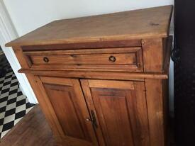 Solid wooden cabinet furniture