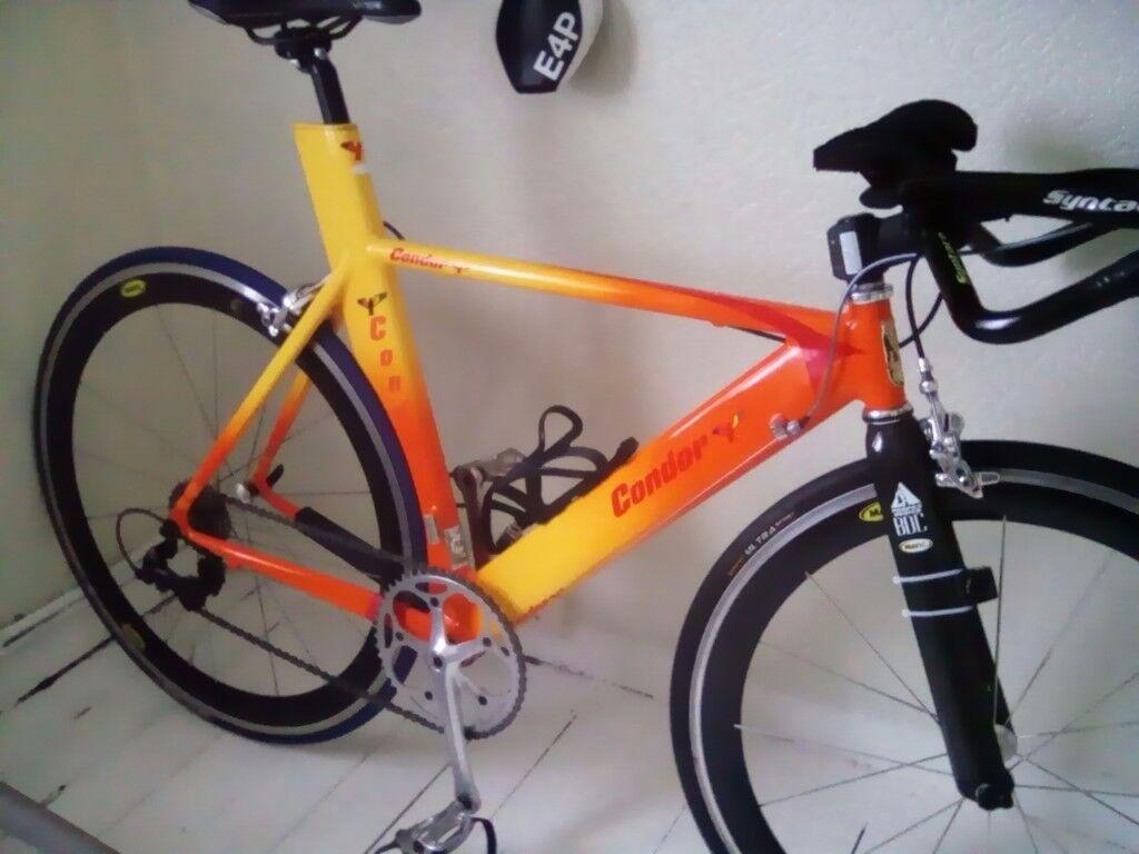 Time trial bike condor mavic ultegra