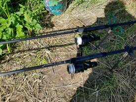 Fox worrior original 12ft carp rods