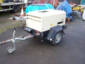 Ingersol Rand Compressor 7/20 single tool