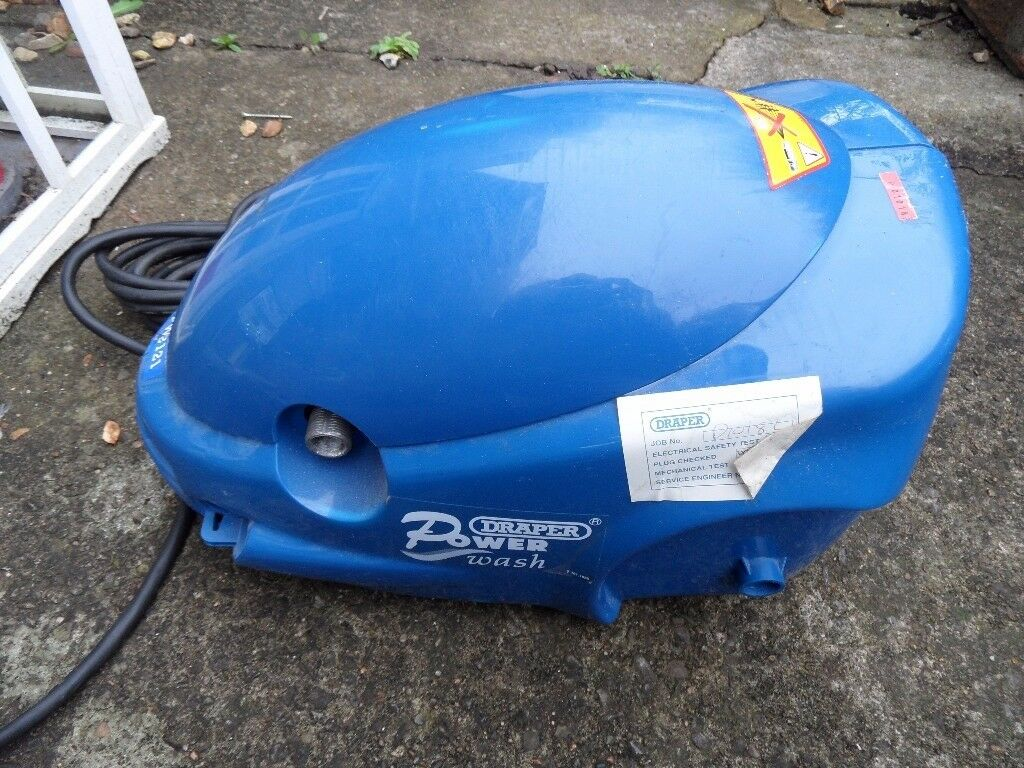 DRAPER POWER WASH MODEL 2121 - NOT USED - ITEM ONLY - TO CLEAR - AS SEEN. 2 ONLY- £15 EACH