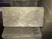 Insulating blocks. 7 n. 100mm thermalite
