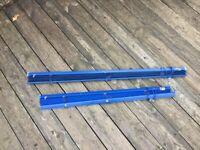 Two Blue Venetian Window Blinds - FREE