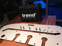 Trend router and jig
