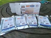 47 Dry Rods and Dryzone damp resistant plaster.